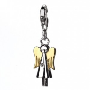 Hot Diamonds Guardian Angel Silver Charm