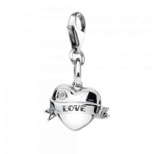 Hot Diamonds Love Heart Charm