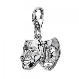 Hot Diamonds Theatre Mask Charm