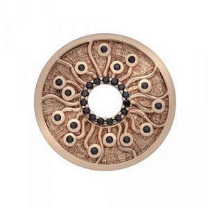 Many Paths Rose Gold Plated Emozioni Coin