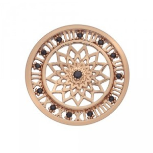 Time Traveller Rose Gold Plated Emozioni Coin