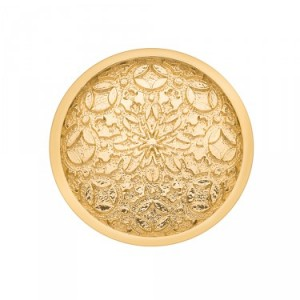 Mystical Map Yellow Gold Plated Emozioni Coin