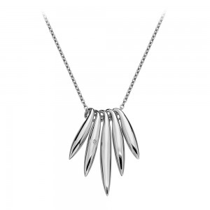 Hot Diamonds Icicle Silver Necklace