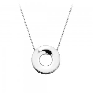 Hot Diamonds Emerge Open Circle Pendant